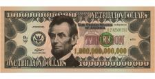 LINCOLN TRILLION DOLLAR (100 Pack)
