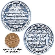 TEN COMMANDMENT COINS (50 Pack)