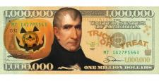 HALLOWEEN MILLION DOLLAR BILL (100 PACK)
