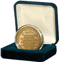 TEN COMMANDMENTS GIFT COIN